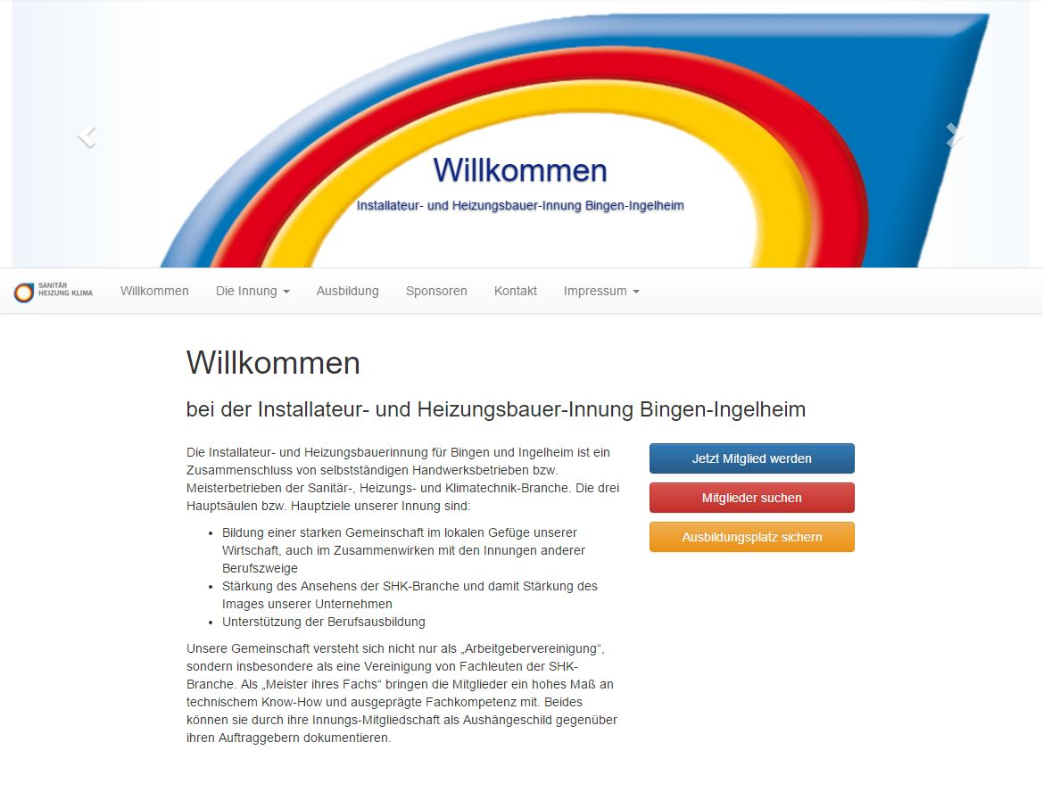 SHK Innung Bingen-Ingelheim